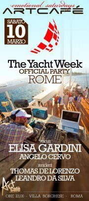 The Yacht Week Official Party - Rome - 10th March, 2012