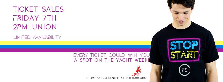 Party like The Yacht Week at the University of St Andrew's Fashion Show