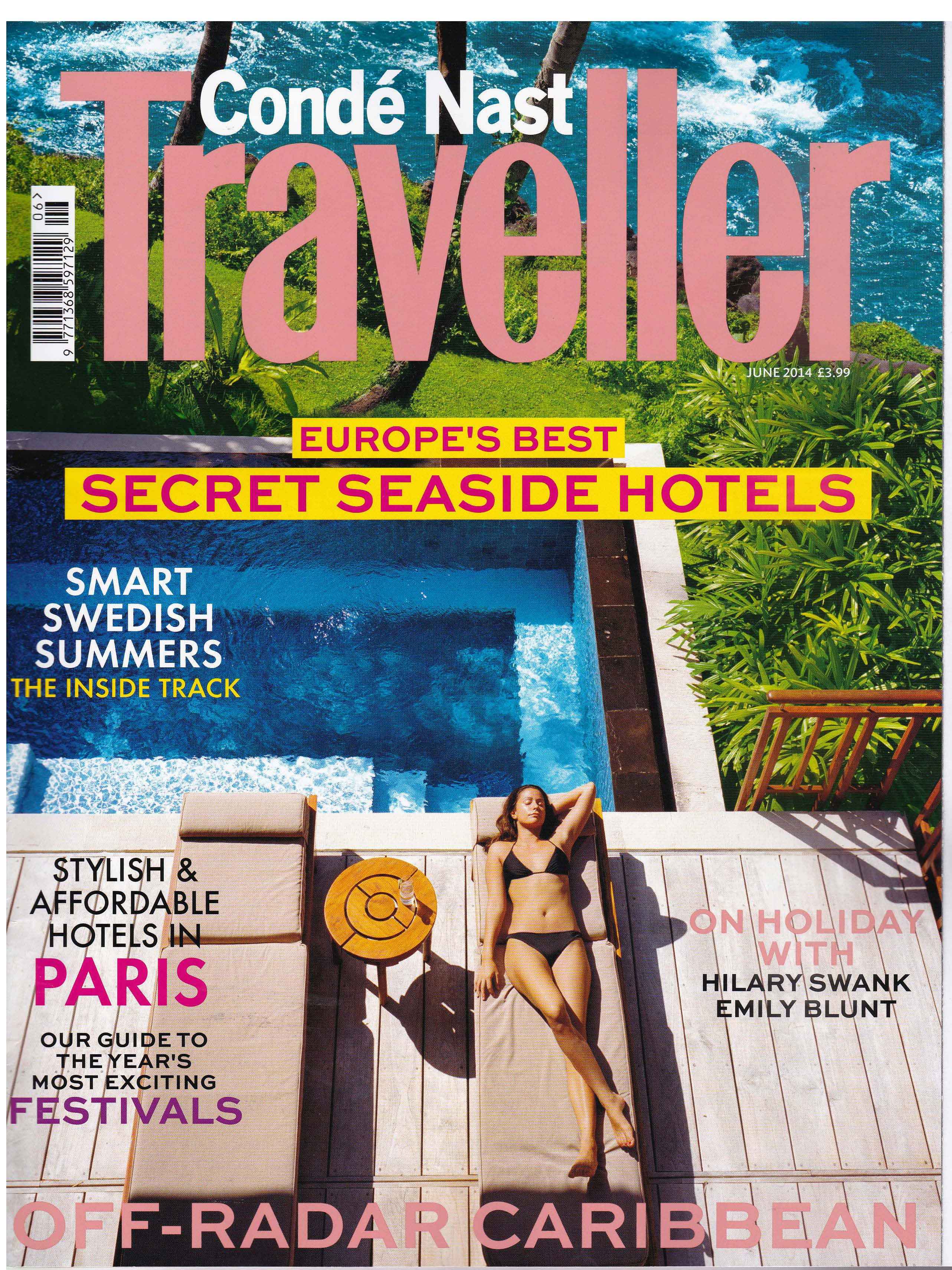 Press Coverage - Conde Nast Traveller