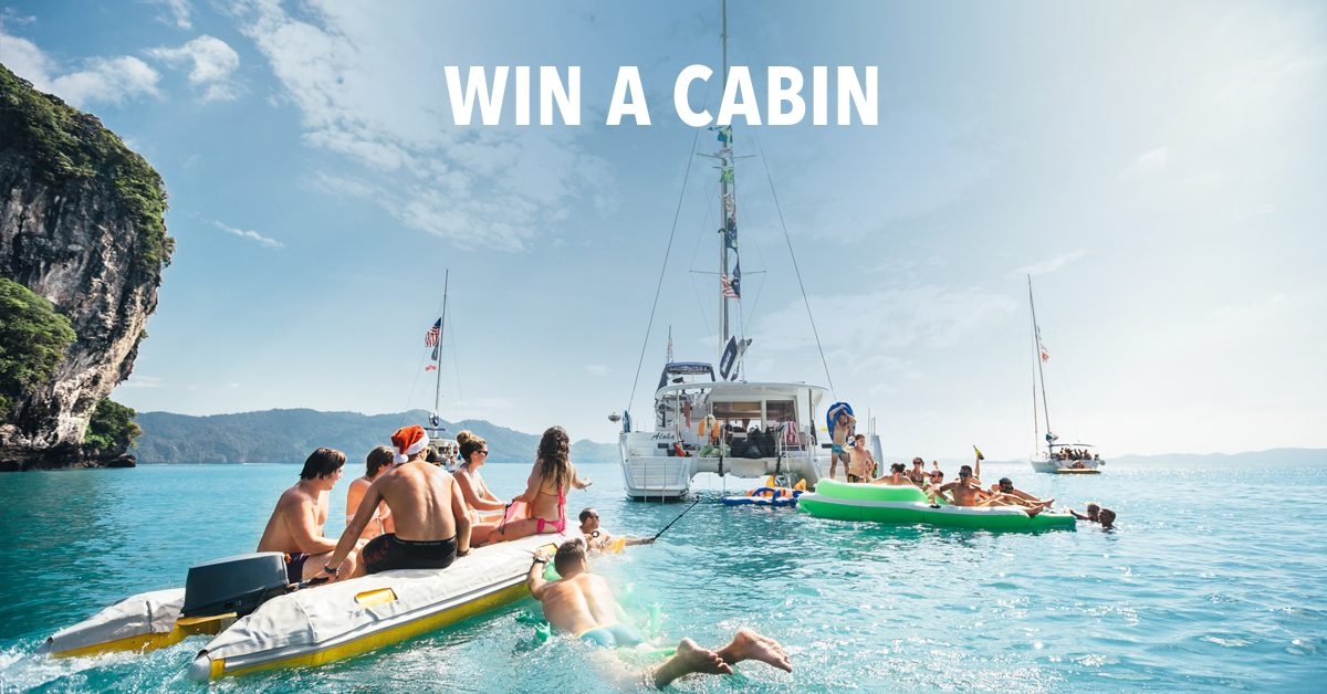 Win a Christmas Cabin in Thailand!