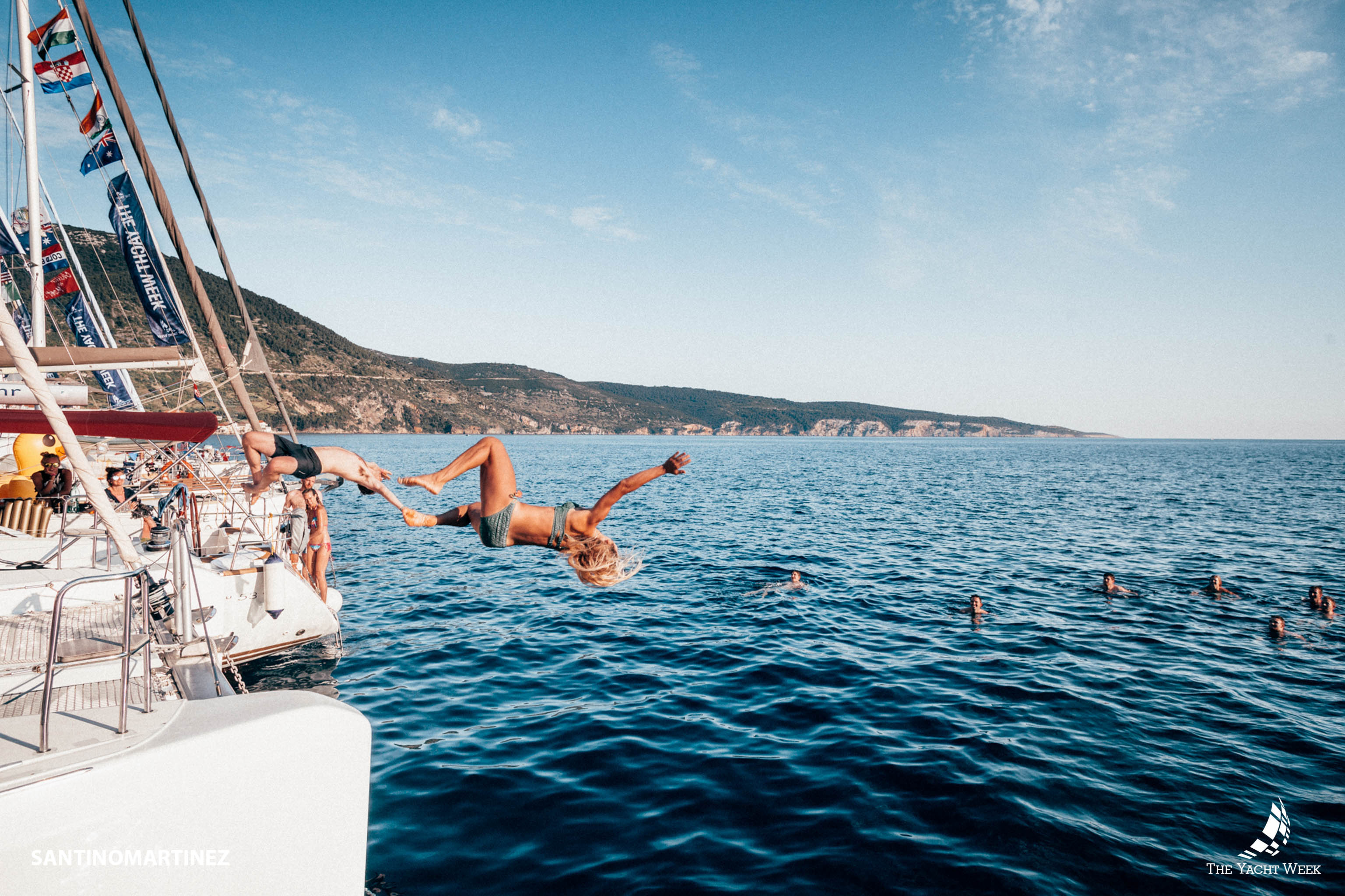 The simplest way to book The Yacht Week