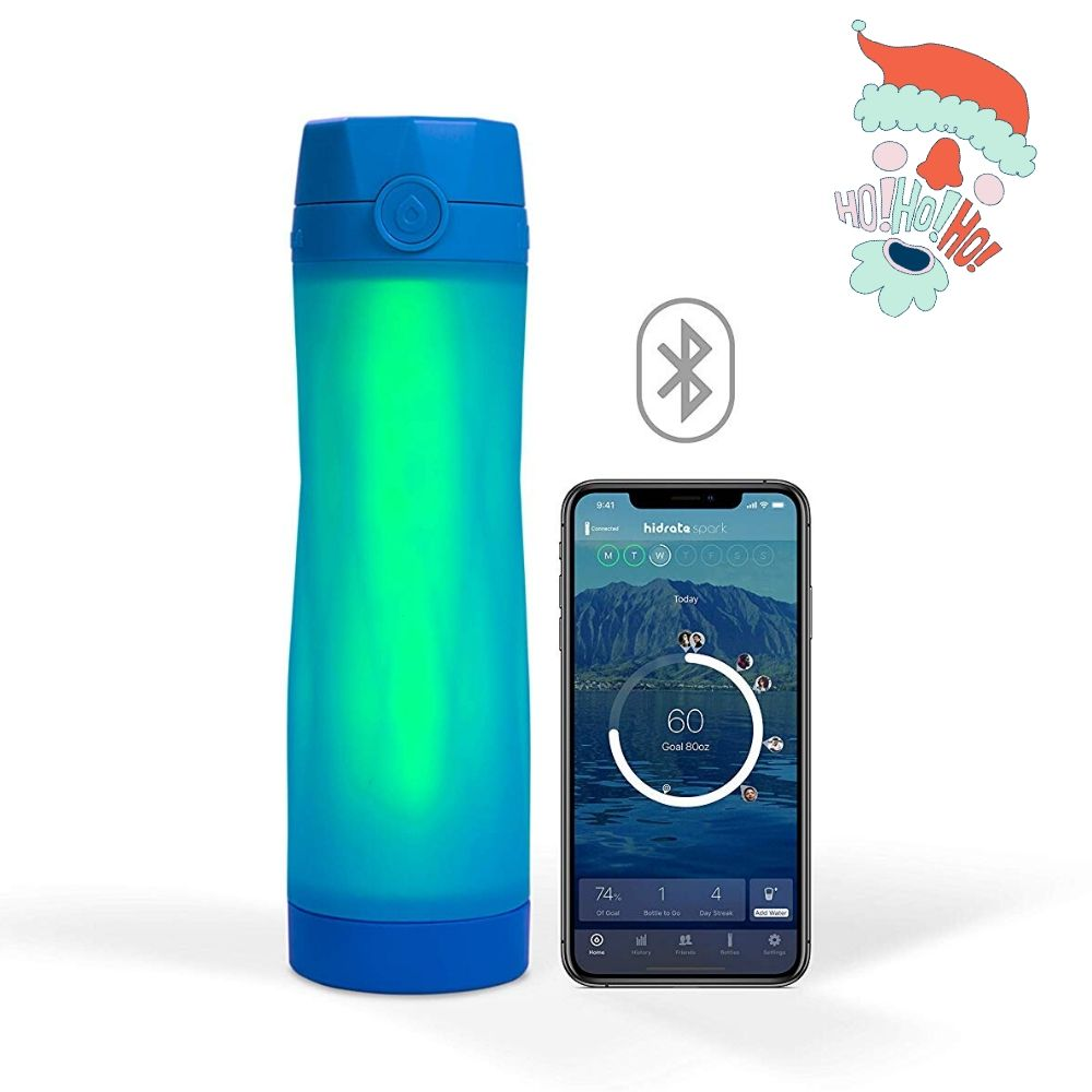 Gifts for beach lovers CREDIT HIDRATE SPARK water bottle