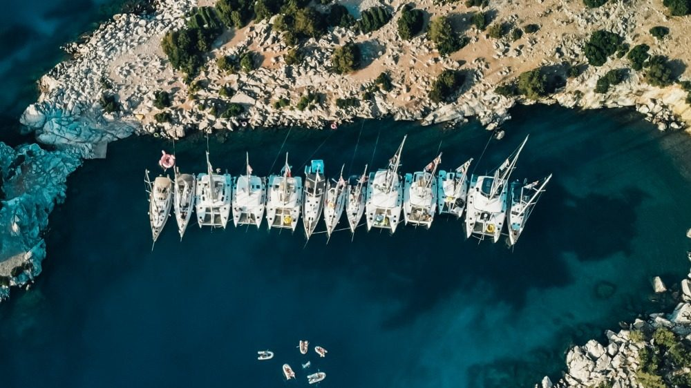 Types of yachts CREDIT The Yacht Week