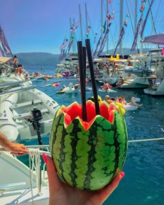 #TBTYW The Yacht Week Croatia 2018 CREDIT @gallivanting_theglobe