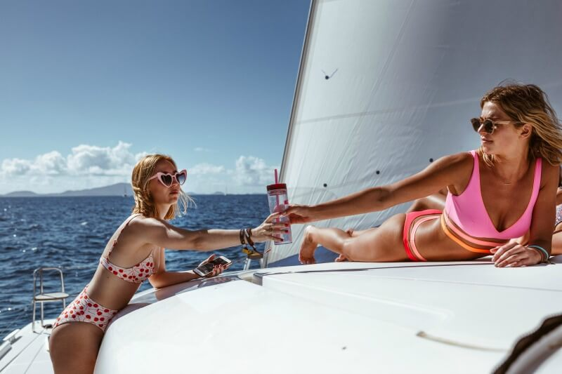 Health and safety tips for travel dehydration The Yacht Week BVI 2020 CREDIT Mathilde Metairie