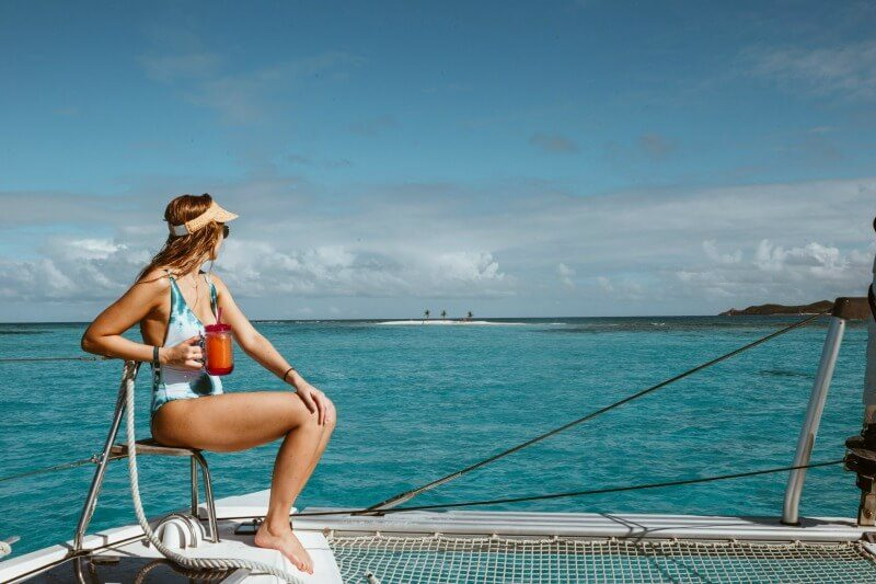 Health and safety tips for travel seasickness The Yacht Week BVI 2020 CREDIT Mathilde Metairie