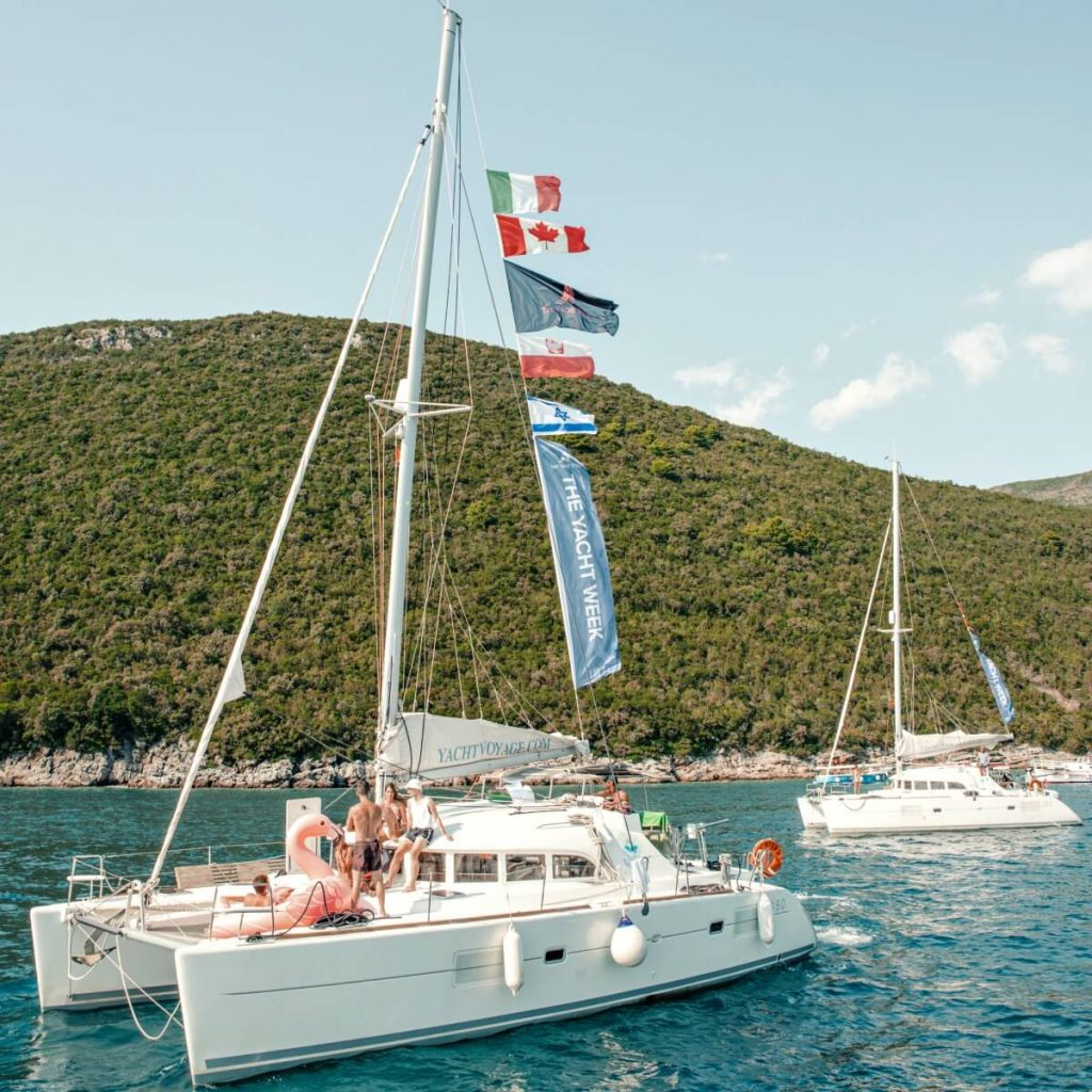 Open letter Coronavirus banner CREDIT Chris Economou _ The Yacht Week