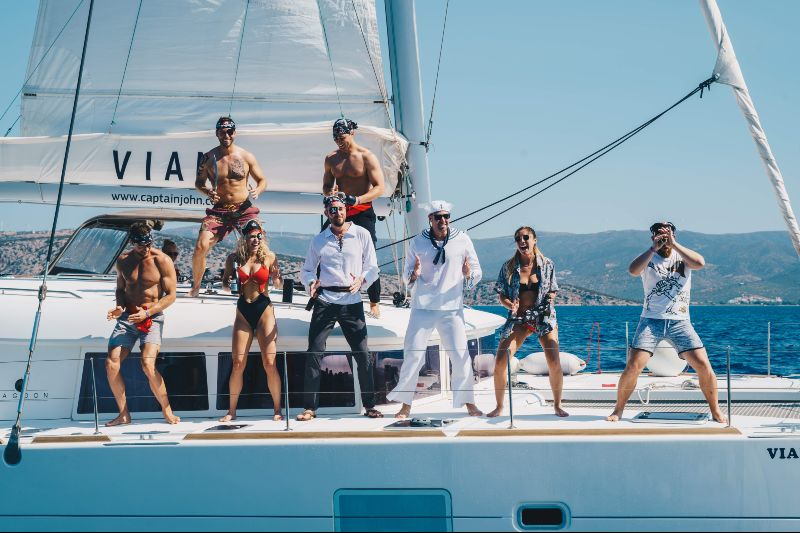 The Yacht Week Greece CREDIT The Yacht Week